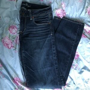 *Old Style* American Eagle Dark Wash Skinny Jeans